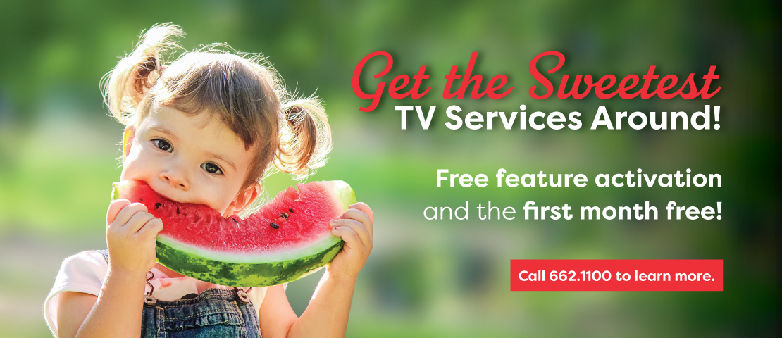 Get the Sweetest TV Services Around!